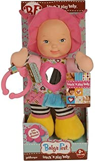 Baby's First Touch'N Play Doll by Goldberger Doll Mfg. Co.