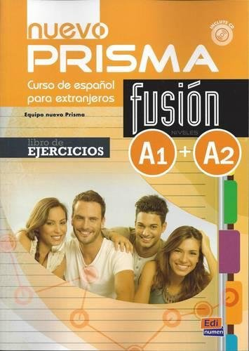 nuevo Prisma Fusión A1+A2 Ejercicios: Libro de ejercicios