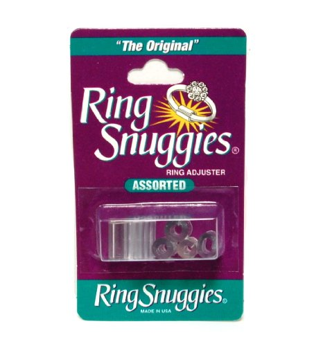Price comparison product image Ring Snuggies Ring Sizer or Assorted Sizes Adjuster Set of Six Per Pack