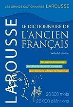 Dictionnaire de l'ancien français d'Algirdas Julien Greimas