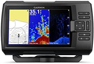 Garmin SONDA GPS Striker Plus 7CV GPS Integrado MAPAS Quickdraw Contours SONDA Chirp CLEARVÜ con TRANSDUCTOR GT20-TM
