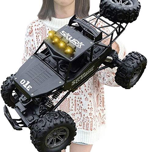 Poooc 4WD vehículo todo terreno, los coches de competición del mejor regalo de Navidad Escala 1:10 alta velocidad cochecillo controlado de radio de 2,4 GHz de camiones a campo través del control remot