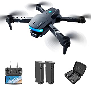 Drones with Camera for Adults 4k,Foldable Remote Control Quadcopter,Wifi Real-time Transmission of Pictures and Videos,Hea...