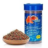 Nobleza - Alimento para Pez Dorado, Granulado Blando de Lento Hundimiento para Peces, 90 g/ 250 ml