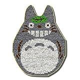 DATOU Totoro DIY Latch Kit De Gancho Alfombra Haciendo Artesanías para Niños/Adultos con Patrón Impreso(Size:52x38cm)