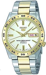 SEIKO Men's Quartz Watch, Analog Display and Stainless Steel Strap SNKE04K1
