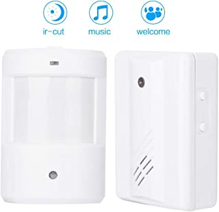 Door Entry Motion Welcome Greeting Infrared Sensor Detector Split Type Multi-Functional Wireless Doorbell Intelligent Greeting Doorbell