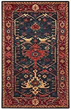 Amazon Com Traditional 8x10 Oriental Rug Wool Hand Tufted