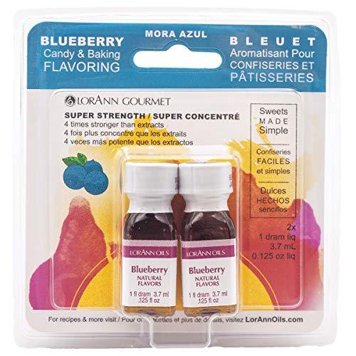 Lorann Oils Candy & Baking Flavoring .125oz 2/Pkg-Bluebe
