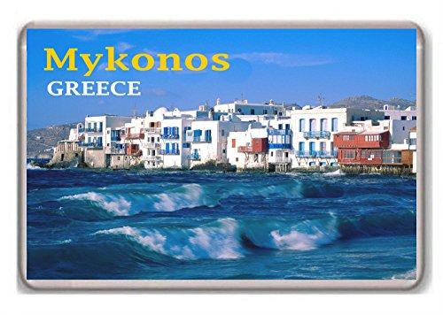 Mykonos Greece fridge magnet.!!!