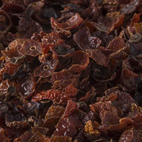 Hagebuttentee 750 Gramm lose, Früchtetee aus getrockneter Hagebuttenschale, sorgfältig entkernt, ohne Zusatzstoffe - Bremer Gewürzhandel