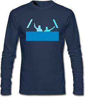 Hefeihe DIY Axwell & Ingrosso Band Logo Men's Long-Sleeve Fashion Casual Cotton T-Shirt