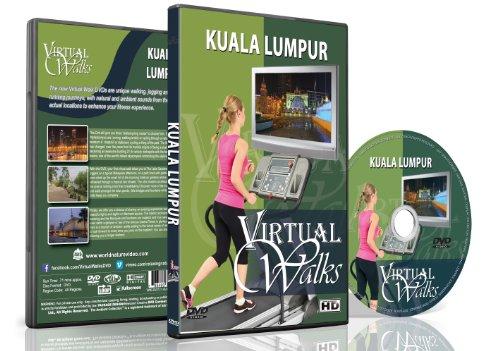 Virtuelle Spaziergänge - Kuala Lumpur für Innen Walking, Laufband und Rad-Training