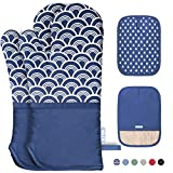 Best oven gloves - Kiya Oven Mitts and 2 Pot Holders Review