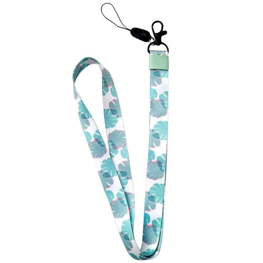 uu19ee Correa del teléfono móvil Flor Lanyard Correa para el Cuello para Llaves ID Card S For USB Badge Holder DIY Cuerda para Colgar: Amazon.es: Hogar