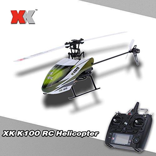 Goolsky XK Halcón K100 6CH 3D 6G Sistema RTF RC Helicóptero