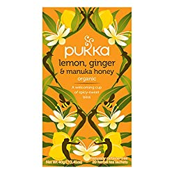 Good news for soothing your spirit. Made with organic slow-dried lemons and ginger root, combined with manuka honey Can be enjoyed at any time of the day or night Naturally caffeine free and ethically sourced, 100% organically grown ingredients Bring...
