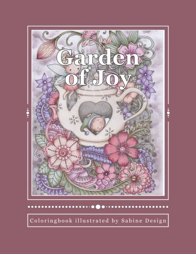 Garden of Joy: Coloringbook