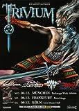 Trivium - Shogun, Tour 2006 » Konzertplakat/Premium Poster | Live Konzert Veranstaltung | DIN A1 «