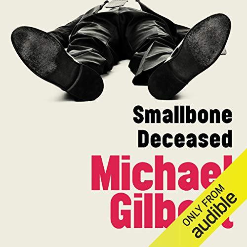 Smallbone Deceased audiobook cover art