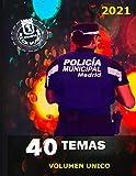 TEMARIO POLICIA MUNICIPAL 2021
