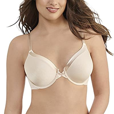 Vanity Fair Women's Illumination Front Close Full Coverage Underwire Bra 75339, Rose Beige, 40C