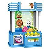 Candy Grabber Niños Mini Arcade Caramelo del juguete dispensador de la grúa de gran regalo for el cumpleaños con luces LED y conmutador de sonido ajustable Caramelo en forma de mano de la garra de la
