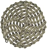 KMC KMC023 X9.93 Bicycle Chain (9-Speed, 1/2 x 11/128-Inch, 116L, Silver/Black)