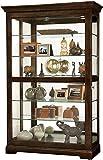 Howard Miller Kane III Curio Cabinet Clock, 0.0, Espresso