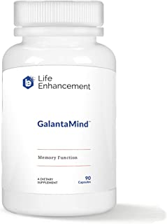 Life Enhancement Galantamind | Boost Memory, Cognitive Function, Lucid Dreaming & Energy | 8mg Galantamine, 90 Servings