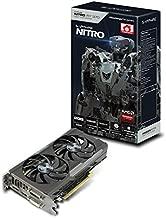 Sapphire Radeon Nitro R7 370 4GB GDDR5 DVI-I/DVI-D/HDMI/DP Dual-X OC Version (UEFI) PCI-E Graphics Card 11240-04-20G