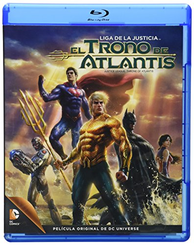Liga de la Justicia: El Trono de Atlantis [Blu-ray]