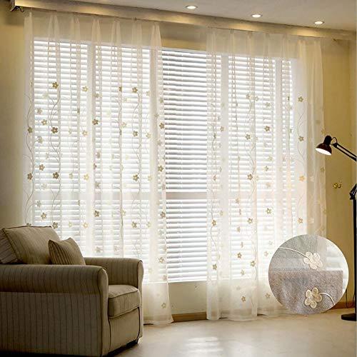 cortinas translucidas lino