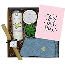 UnboxMe Care Package For Women | Feel Better Soon, Get Well Soon Gift, | Stress Relief Gift, Self Care, Encouragement Gift, Nurse Gift, Bff Gift, Cancer Gift, Happy Birthday Gift (You Got This)