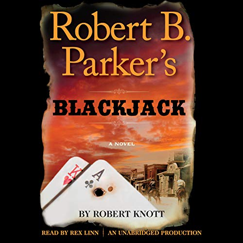 Robert B. Parker's Blackjack audiobook cover art