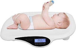Naroote 【????? ??? ???? ????】 Báscula de Peso eléctrica, báscula de bebé Báscula de pesaje precisa electrónica Digital para bebés 20 kg 44 LB Peso: la Calidad es Nuestra Cultura