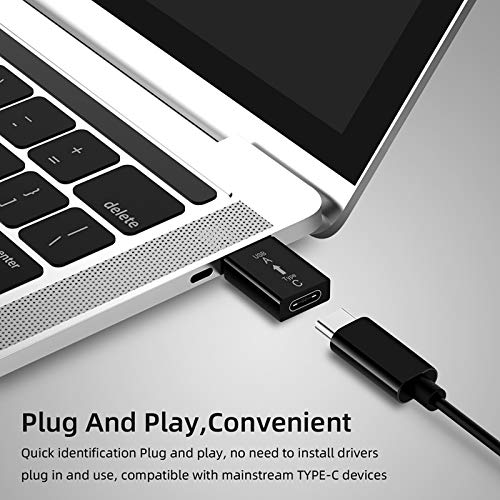 HUANGGUA USB Type-C Female to USB 3.0 Male Adapter USB C to USB A Connector