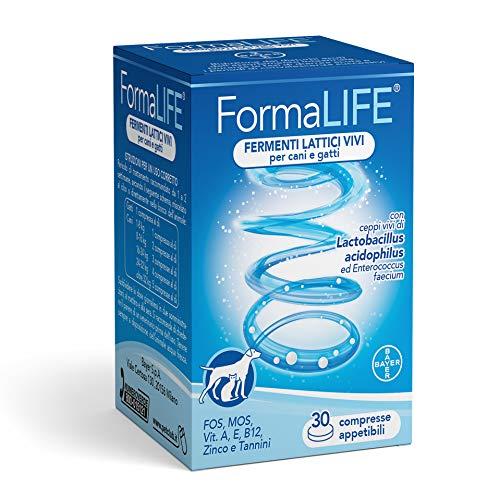 Bayer FormaLife 30 Compresse Appetibili - Fermenti Lattici Vivi