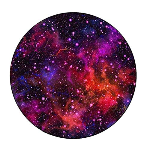 Carpets Carpet Mats Retro Round Carpet Starry Sky Earth Living Room Bedroom Tables And Chairs Non-slip Mats Bedside Blankets (Color : C, Size : 150cm)