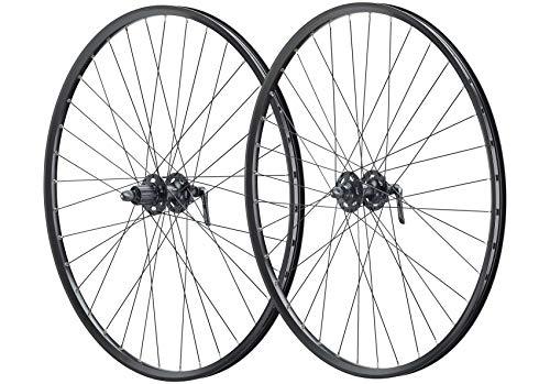 Vuelta 29 Zoll Fahrrad Laufradsatz Pro Disc Hohlkammerfelge schwarz Shimano Deore XT756 schwarz NIRO schwarz