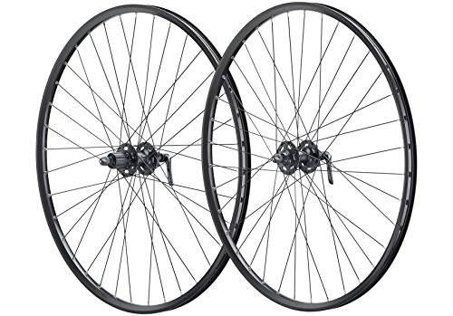 Vuelta 27,5 Zoll 650B Fahrrad Laufradsatz Pro Disc Hohlkammerfelge schwarz Shimano Deore XT756 schwarz NIRO schwarz