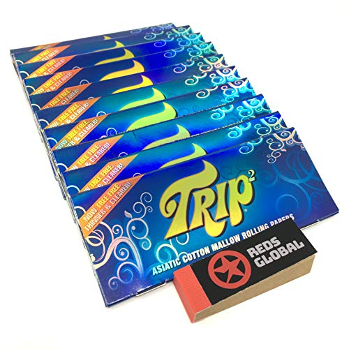 Trip2 Transparent Clear King Size Papers (10 Packs)