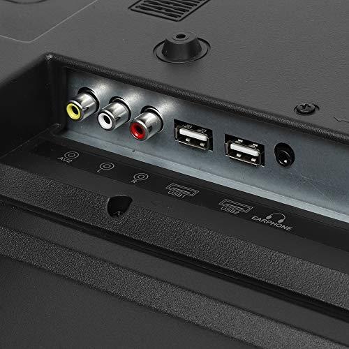 32-Zoll-Großbild-Fernseher mit gebogenem Bildschirm 3000R Krümmung 4K HDR 1920x1200 HD HDMI Intelligentes Fernsehgerät, Unterstützung verkabelt und drahtlos(EU Plug)