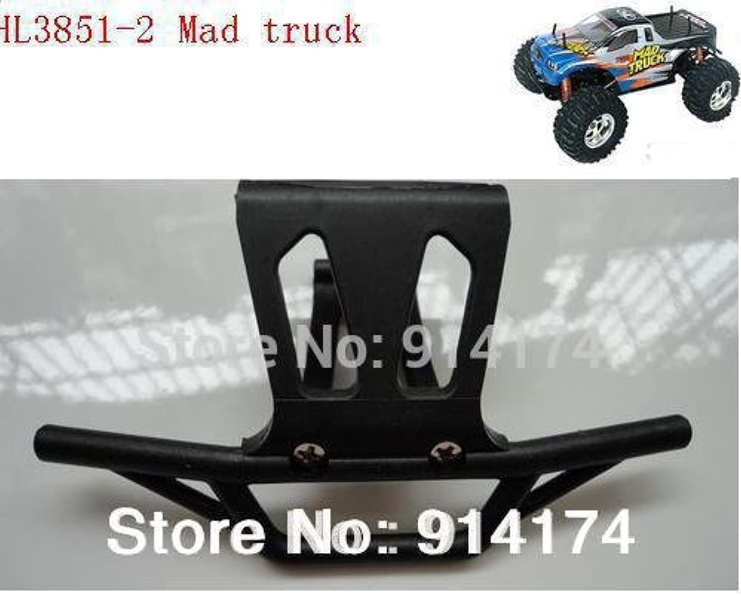 2pcs lot HengLong HL38512 1 10 RC Mad Truck Truck Truck