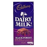 Cadburys Dairy Milk Black Forest 200gバーbyキャドバリー