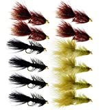 Woolly Bugger Trout Fly Fishing Streamer...