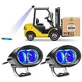 20W Luz LED Estroboscopica, 2 PCS Carretilla Elevadora Luz de Advertencia para Camión Tractor