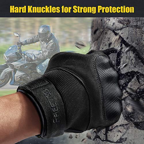 [Sport Handschuhe] FREETOO Motorrad Handschuhe Herren Vollfinger Army Gloves Ideal für Airsoft, Militär,Paintball,Airsoft, lebenslange Garantie - 2