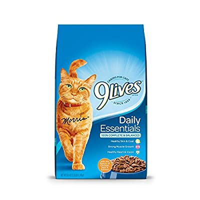 9Lives Daily Essentials Dry Cat Food, 3.15 Pounds