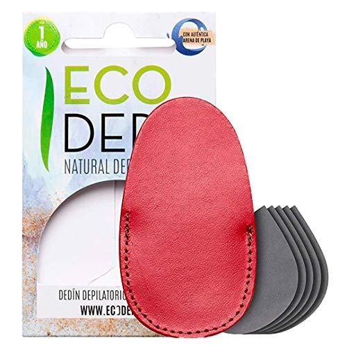 Ecodepil Manopla Depilación Natural sin Dolor Dedín Facial 5 Recambios 5/6 meses | Eliminación de Vello Zonas Pequeñas